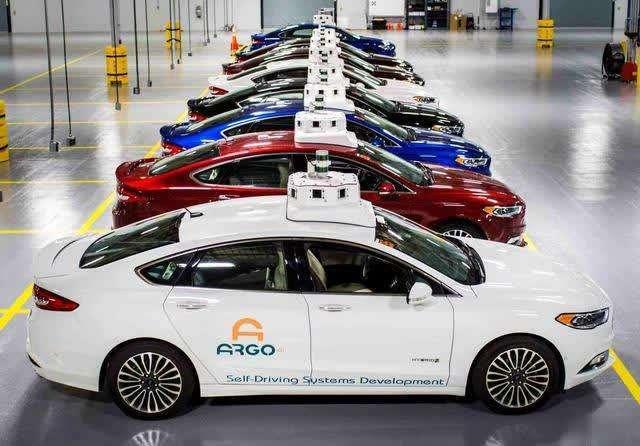 福特与华盛顿市政府合作,发力无人驾驶领域布局
