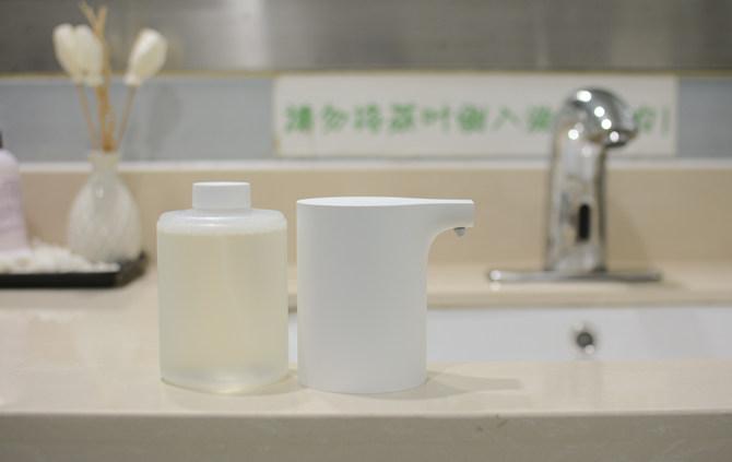 让孩子从此爱上洗手 米家自动洗手机套装体验