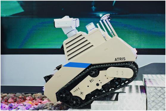 优必选智能巡检机器人ATRIS:迈向安防的第一步