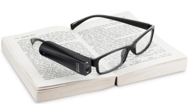 """清晰世界""""重现术"""":让眼镜说话"""