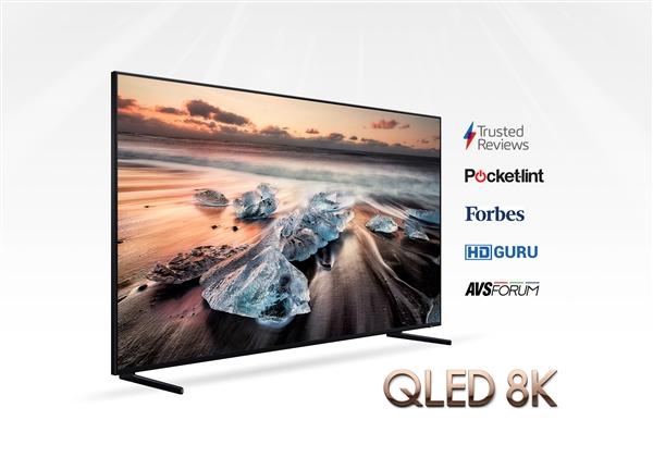 三星首款8K电视Q900R获外媒赞誉:地表最强