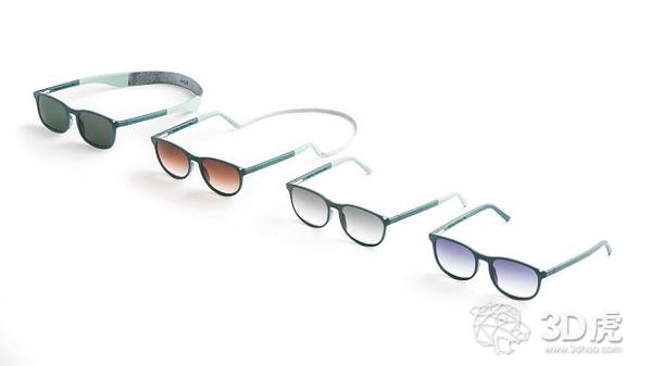 Kite和Layer合作提供可定制的3D打印眼镜