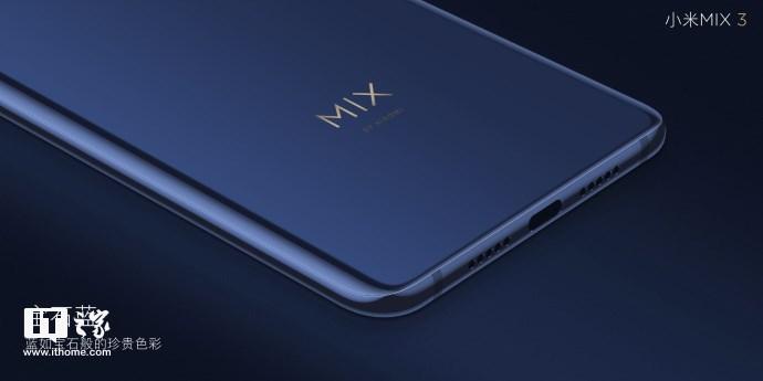 小米MIX 3官方图赏:磁动力滑轨设计,陶瓷后壳