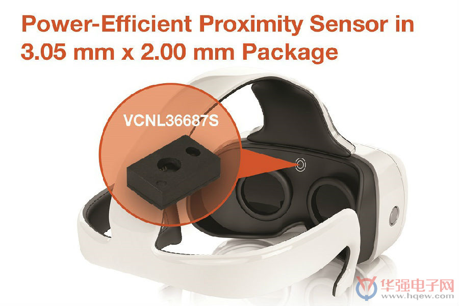 Vishay新型超薄全集成接近传感器可提供高达20cm的感应范围