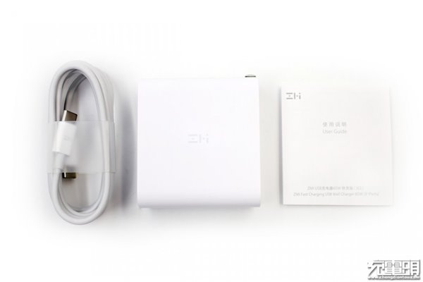 紫米多口充电器评测:三口可同时输出,总输出65W