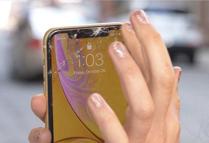 苹果iphone xr跌落测试:不及iphone xs坚固