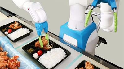 日本研发便当分装机器人,能以三维模式识别食物的形状
