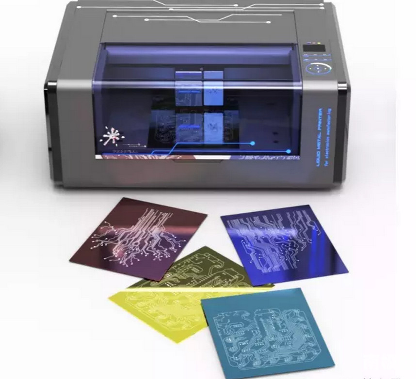 在任意三维形状上3D打印电路