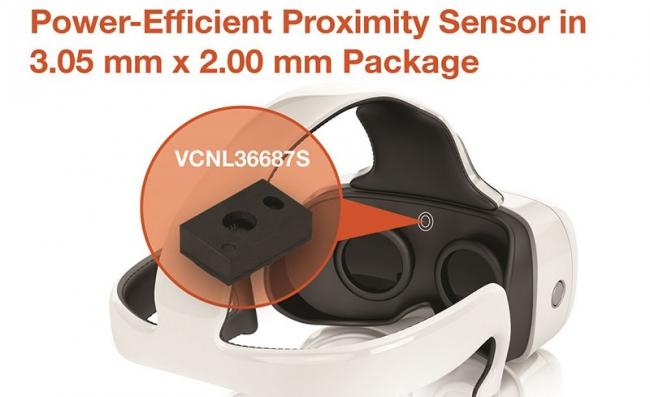 Vishay推出全集成的接近传感器 搭载VCSEL