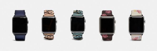 蔻驰公司为Apple Watch Series 4更新个性款表带