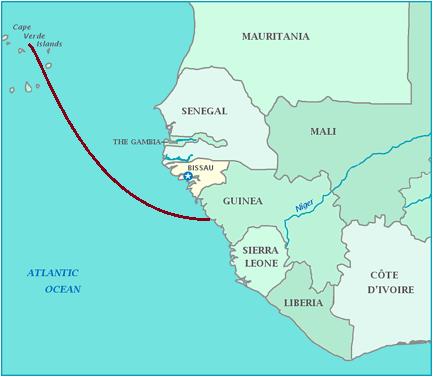 几内亚-佛得角海底光缆系统筹建