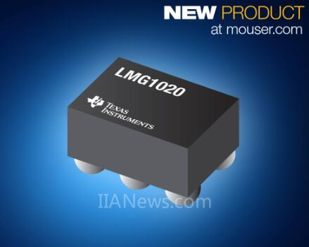 贸泽开售LMG1020低侧GaN驱动器 可用于高速LiDAR和TOF