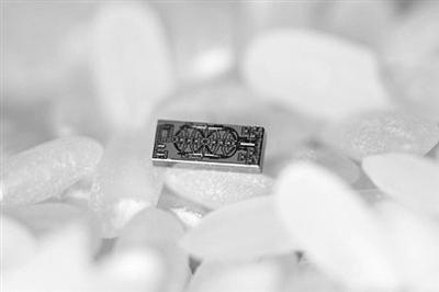 迄今最小光学陀螺仪:没米粒大