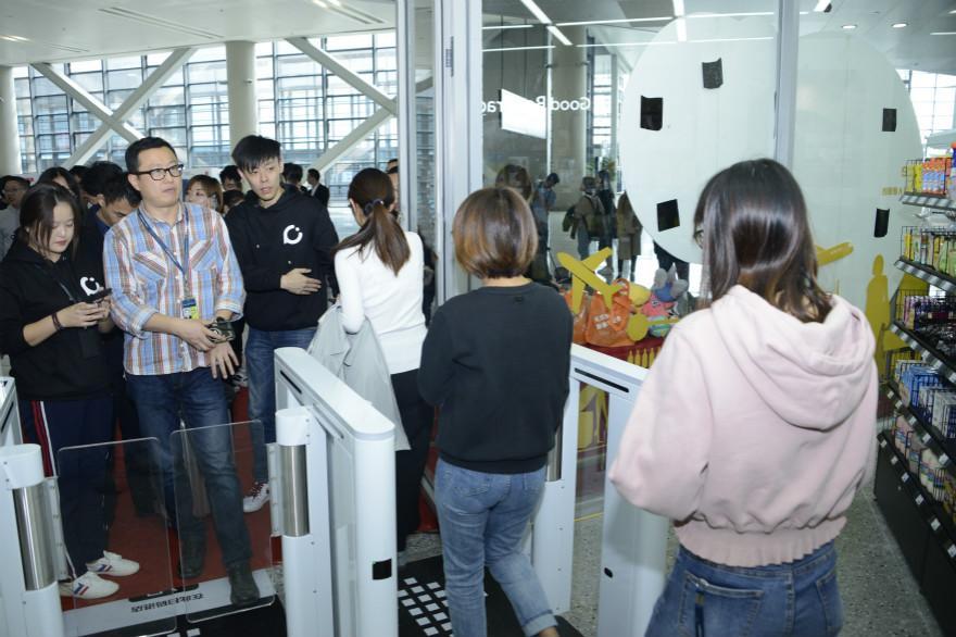 首家云拿智慧商店落地上海虹桥机场,AI黑科技助力旅客消费升级