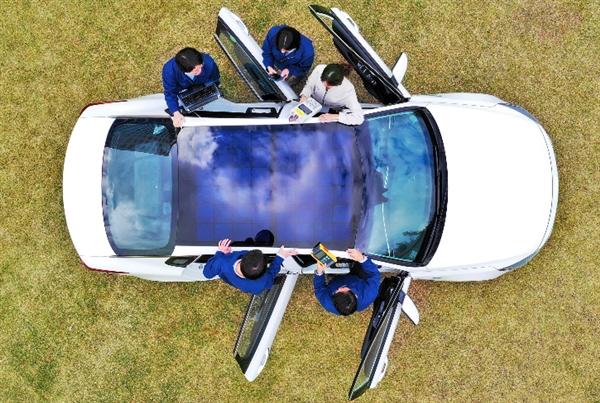 现代汽车计划在特定车辆上使用太阳能充电技术 2019年后应用