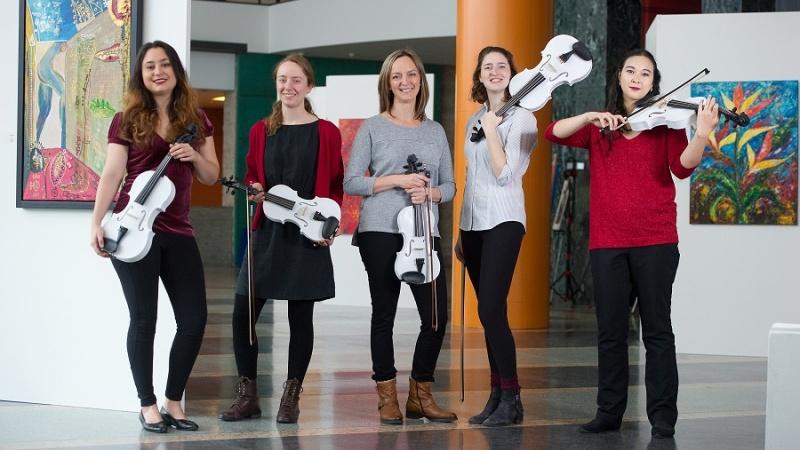 3D打印的小提琴交响曲将在渥太华音乐会演奏