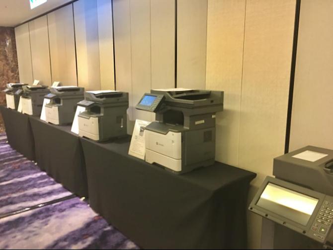 利盟在台湾地区发布十二款激光打印新品