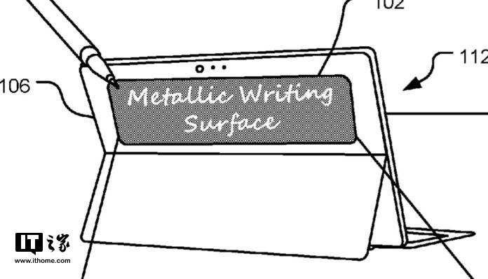 微软Surface新专利曝光:背面还有一块副屏