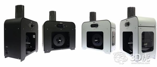 3devo推出两款新系列3D打印材料挤出机