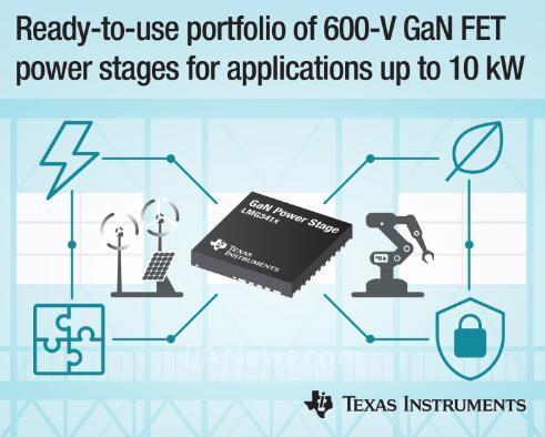 德州仪器的GaN电源跑在了市场前头