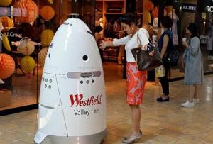 保安机器人通过人工智能预防犯罪
