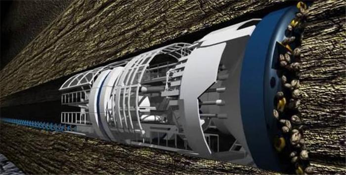 马斯克放大招!直逼高铁时速的240km汽车隧道挖成了!