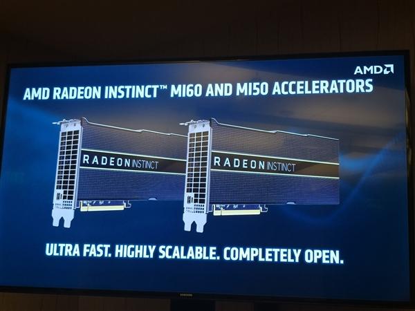 AMD 7nm Radeon Instinct计算卡解析:游戏卡明年见