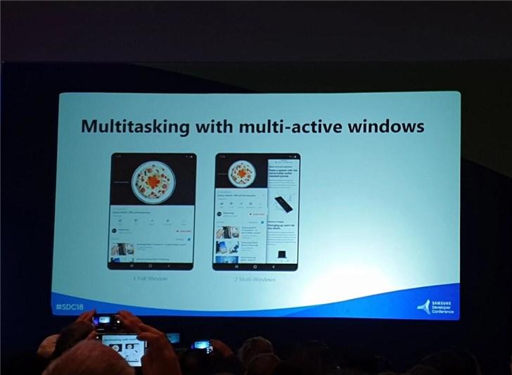 三星可折叠屏手机更多屏幕信息:两个屏幕,两种分辨率