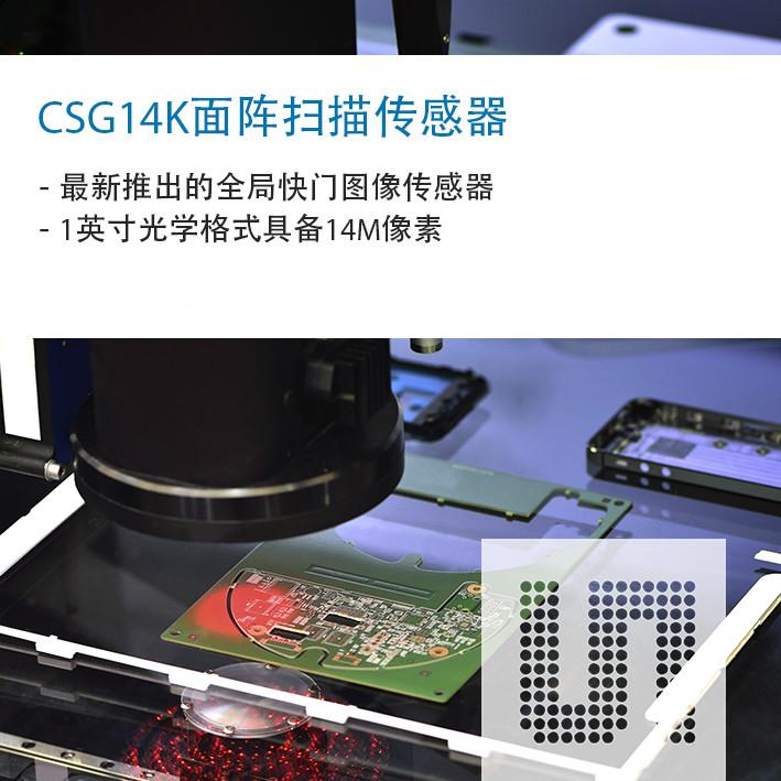 图像传感器设立新的1英寸光学格式图像质量和帧率标准