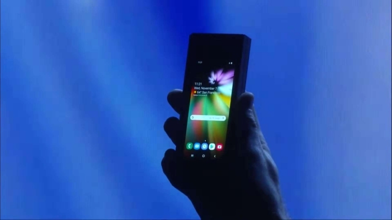 三星你在逗我吗?说好的可折叠屏手机改变世界呢?