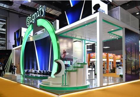昕诺飞参加中国国际进口博览会 可见光无线通信技术(LiFi)首次亮相