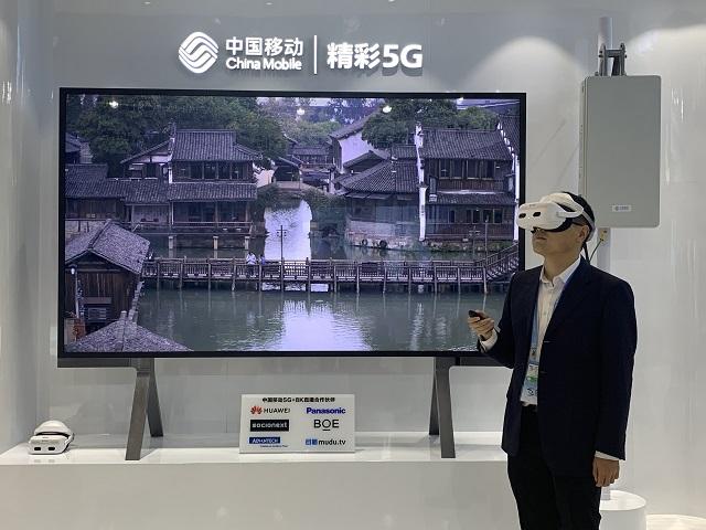 中国移动5G联创中心联合华为首发基于5G的8K VR直播业务