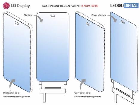 LG全面屏智能手机挖孔专利曝光