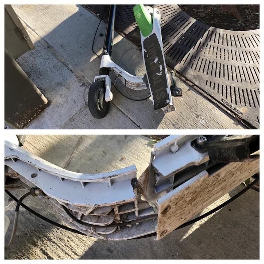 便利变人祸?电动滑板车断裂问题不断至多人受伤,Lime在全球范围内火速召回
