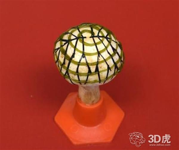 研究人员开发出使用石墨烯发电的3D打印仿生蘑菇
