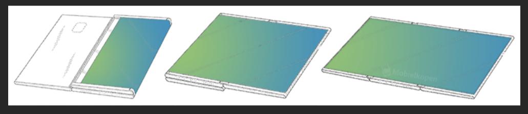 三星全新专利曝光 折叠屏平板也要来