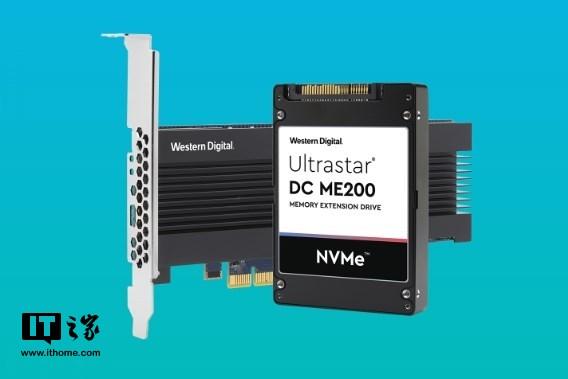 西部数据发布全新内存固态盘:近DRAM的性能,4TB容量
