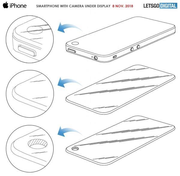 苹果将在新iPhone中搭载屏下摄像技术