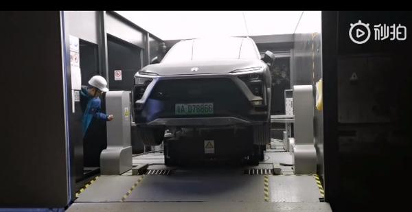 比加油快!蔚来18座换电站落地京港澳高速:ES8车主免费换电
