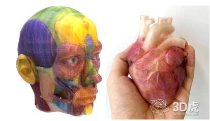 全新工艺技术的桌面全彩3D打印机首次亮相高交会