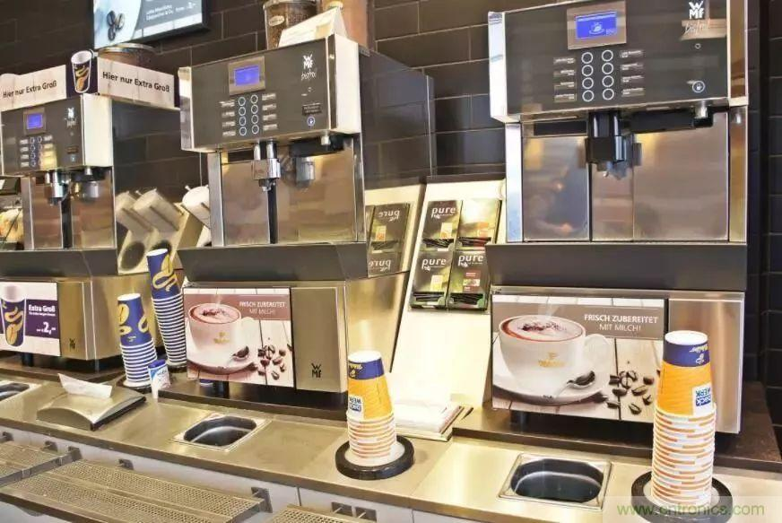 自助咖啡机的兴起及其中的霍尔传感器应用