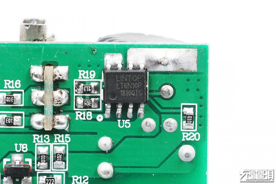 OFSPOWER 18W USB PD双口充电器评测拆解