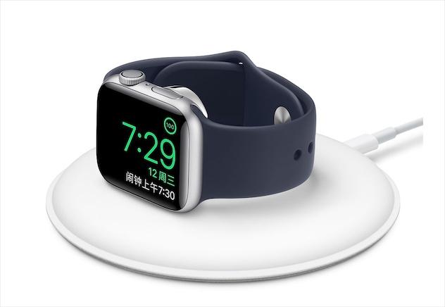 苹果发布新款Apple Watch磁力充电基座