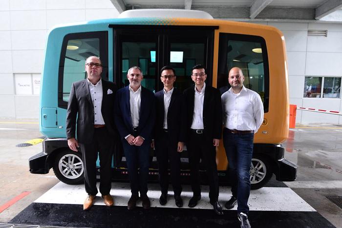 大陆与EasyMile签署谅解备忘录 在新加坡合作开展自动驾驶测试