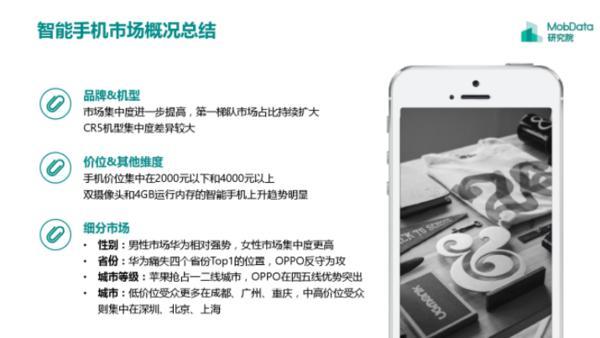 手机市场五霸争雄格局愈加明显 苹果用户多为隐形贫困人口
