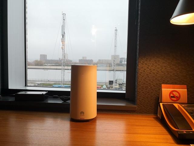 华为在伦敦推出5G家庭宽带 提供高速5G带宽服务