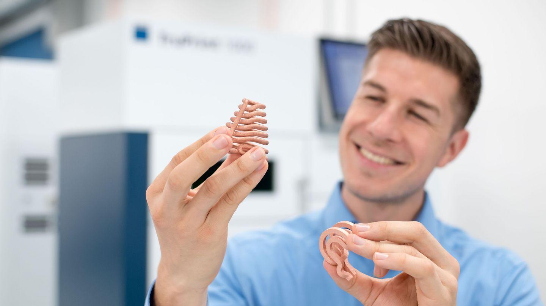 TRUMPF推出绿色激光技术 支持铜和金等贵金属3D打印
