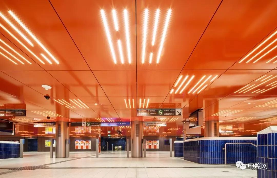 地铁照明系统电路图