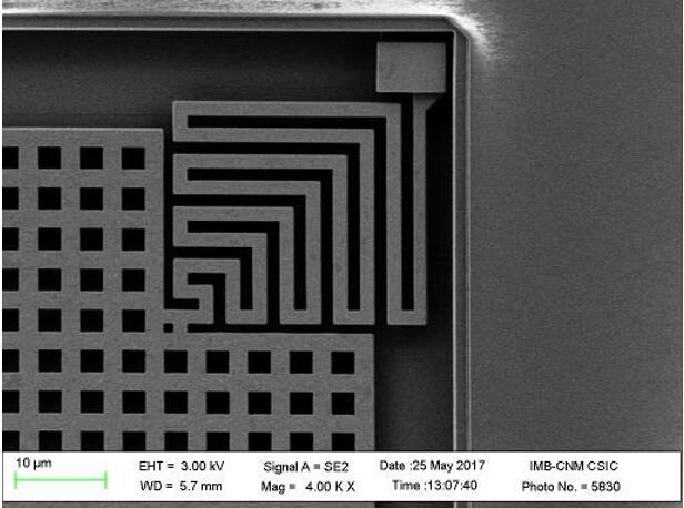 Nanusens众筹100万欧元 利用标准CMOS工艺制造纳米传感器