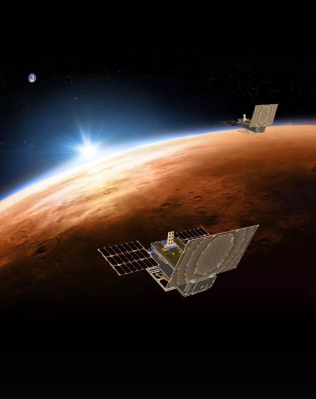 """""""洞察""""号探测器成功着陆火星 首次揭秘火星内部结构"""